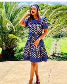 Xhosa Attire, African Attire, African Wear, African Fashion Dresses, African Dress, Ankara Dress, Sotho Traditional Dresses, South African Traditional Dresses, Seshoeshoe Designs