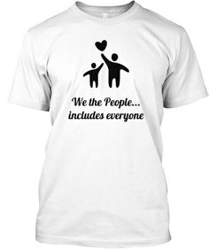 Believe in Inclusion for everyone! | Teespring T-shirts to raise funds for The Arc of Southwest Washington. Our program supports people with Developmental Disabilities to live independently.