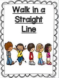 FREE - Classroom management poster to establish back to school season good behavior in kindergarten, preschool, and TK.