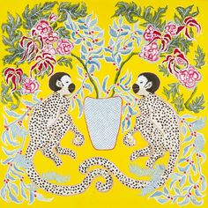 The Glam Pad: Palm Beach Chinoiserie Prints by Paige Gemmel
