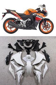 Mad Hornets - Fairings Honda CBR250R Repsol Orange Racing (2011-2013), $559.99 (http://www.madhornets.com/fairings-honda-cbr250r-repsol-orange-racing-2011-2013/)