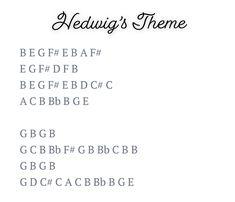 Piano Songs For Beginners, Beginner Piano Music, Easy Piano Sheet Music, Flute Sheet Music, Piano Sheet Music Letters, Sheet Music With Letters, Piano Music Notes, Hedwigs Theme Piano, Keyboard Noten
