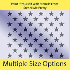 stencil 50 stars rec flag usa patriotic country american rustic diy pallet crafts home arts crafts decorative tole painting ebay