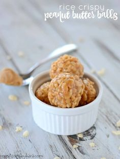 Easy no-bake peanut butter balls are always a hit. They are naturally gluten free, and so addicting!