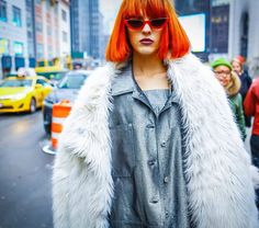 Back to the 90s with our #streetstyle look from #NYC #thedoomgeneration  by @annacpalermo by nowfashion