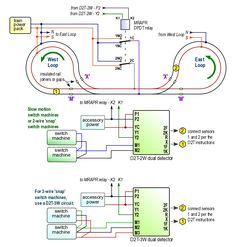 how to wire an x section using an atlas snap relay and