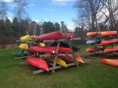 canoe and kayak storage