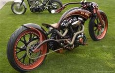 Truly a one of a kind custom motorcycle build!