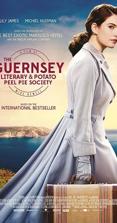 The Guernsey Literary And Potato Peel Pie Society Directed By Mike Newell - Starring Lily James and Matthew Goode Jessica Brown Findlay, Netflix Movies, Movies Online, Movie Tv, Movie List, Movie Sites, Matthew Goode, Movies To Watch, Good Movies