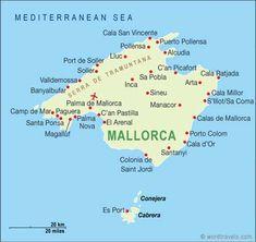 El Mapo de Mallorca ;>) Hablo un pocito Espagnol!