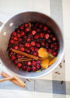 Cranberry Apple Stov