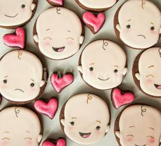 Baby Faces Cookies