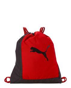 45043d4b7e Puma Red Runway Drawstring Backpack Drawstring Backpack
