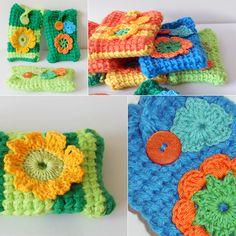 And if I ever made phone cozies, they might look like this. Wonder how many I could make in a weekend?