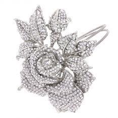 Rose of Extravagance Side Tiara