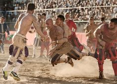 The Calcio Storico in Florence, Tuscany