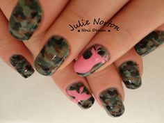 Duck Dynasty Inspired Cmao Nails <3