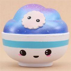 cute jumbo galaxy bowl scented squishy kawaii