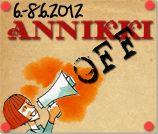 2012 Annikin Runofestivaalin kotisivut. Annikin Runofestivaalilla on ensimmäistä kertaa oma off-ohjelmisto Annikki OFF!