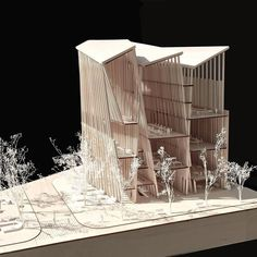 #Library as #Basilica . #Semper's #textile as #heavytimber #Structure // Final model @quyle1009 ___________________ // __________________ #SAmodel #superarchitects#project#thinkdesign#newarchitecture#designresearch#architectureproject#architecturestudent#architectureschool#studioproject#arqutectura#maquette#maqueta#建筑#arcbbbh#art#archlife#imagination#create#design#thinkoutsidethebox#architect## by superarchitects