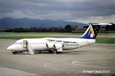 Ansett New Zealand BAe 146 Whisper Jet ZK-NZN, Queenstown 1998