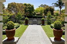 Modern Materials, Traditional House, Landscape Design, Sidewalk, Garden, Plants, Projects, Walkway, Blue Prints