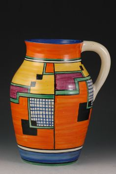 Clarice Cliff, Art Deco Pottery, Moorcroft and Century Ceramics Dealer - Clarice Cliff, Art Deco Period, Art Deco Era, Ceramic Pottery, Pottery Art, Art Nouveau, Art Installation, Art Deco Furniture, Objet D'art