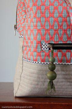 owen's olivia: Cargo Duffle || Crafty Traveler Series