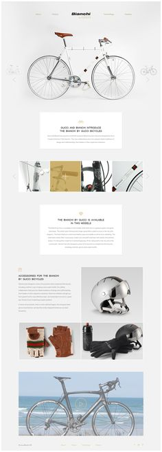 Saved by Max Lapteff (maxlapteff) on Designspiration. Discover more Site Bianchi Gucci Bicycles Max inspiration. Interaktives Design, Best Web Design, Email Design, Bike Design, Tool Design, Layout Design, Graphic Design, Clean Design, Brand Design
