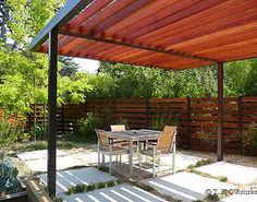 The wooden pergola is a good solution to add beauty to your garden. If you are not ready to spend thousands of dollars for building a cozy pergola then you may devise new strategies of trying out something different so that you can re Diy Pergola, Wood Pergola, Pergola Canopy, Pergola Swing, Outdoor Pergola, Pergola Shade, Pergola Kits, Backyard Patio, Pergola Ideas