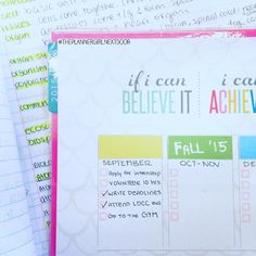 Day 17: My September goals are almost complete! What should I accomplish in October? #30DaysofPlanning