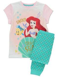 Disney The Little Mermaid Pyjamas Girls Princess Ariel Pyjama Set Kids PJs Little Mermaid Baby, Disney Little Mermaids, Disney Girls, Disney Pajamas, Girls Pajamas, Disney Outfits, Kids Outfits, Disney Clothes, Tinkerbell Outfit