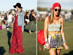 a) I wish I was at Cochella. b) I wish I could rock the outfit on right!!