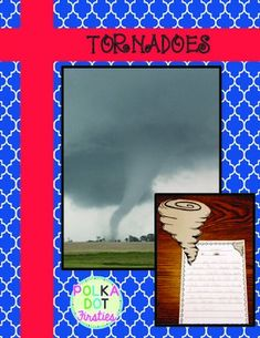 Need a quick and easy writing assignment for your weather unit? Check out this Tornado Informational Writing & Craft.