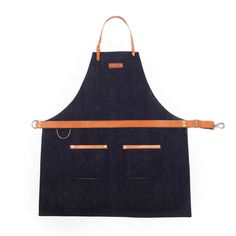 rugged apron for men selvage denim indigo Clothes Words, Linen Apron, Men's Apron, Tie Onesie, Restaurant Uniforms, Shop Apron, Grill Apron, Work Aprons, Denim Art