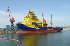 Rescue vessel in the Bilbao port,Spain by Sea captain Arunas Bruzas, via Flickr