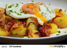 Tyrolské Gröstle recept - TopRecepty.cz Easy Healthy Recipes, Vegan Recipes, Easy Meals, Cooking Recipes, Potato Recipes, Pork Recipes, No Salt Recipes, Food 52, No Cook Meals