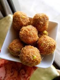 Kunafa Balls Aka Vermicelli Truffles Ramadan Desserts Kunafa Recipe Arabic Sweets