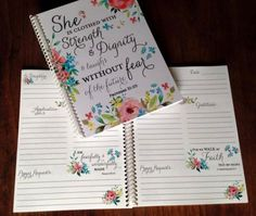 Prayer Journal - Bible Journaling