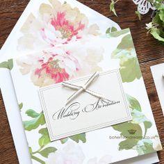 Vintage garden wedding invitation www.bohemiandreams.co.uk Luxury Wedding Invitations, Wedding Favours, Wedding Stationery, Diy Wedding, Garden Wedding, Afternoon Tea Wedding, Vintage London, Big Day, Inspiration