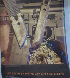 Hanging out with Integrity Implements! Check them out at http://ift.tt/1OZLkfK.  #socon #soconusa #integrityimplements #knives #customknives #handforged #businessalliance