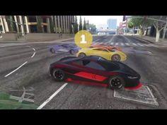 GTA V online-corrida insana