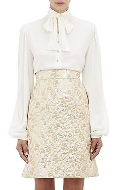 We Adore: The Tieneck Blouse from Dolce