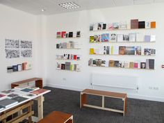 Library of Independent Exchange (L. Ceramic Studio, Exhibition Space, Furniture Design, Photo Wall, Exhibit Design, Shelves, Graphic Design, Exhibitions, Interior