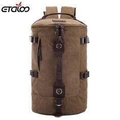buy on wallmart.win Large capacity man travel bag mountaineering backpack men bags canvas bucket shoulder bag 012: Vendor: Wallmart Type:…