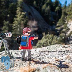 #Playmobil photographer, Marshal Gulch, Mt Lemon, Tucson, AZ #playmobilfans #playmofigures #playmobilmania #playmobillovers #playmobilcollectorclub