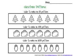 FREEBIE Christmas Pattern Printables!