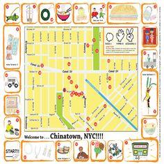 Kids Map of Chinatown