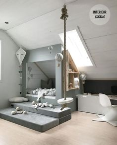 3 wondrous useful ideas: loft low ceiling closet designs loft . - 3 wondrous useful ideas: loft low ceiling closet designs loft Bar.Cheap Loft Insulation Loft Logo p - Attic Apartment, Attic Rooms, Attic Spaces, Small Spaces, Attic Playroom, Attic Loft, Small Rooms, Attic Library, Attic Ladder