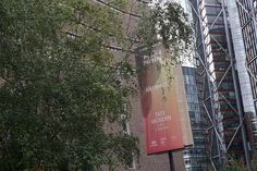 """Anywhen"" Philippe Parreno #Installation at Tate Modern #TurbineHall #London #Cartel #Affiche #Arterecord 2016 https://twitter.com/arterecord"